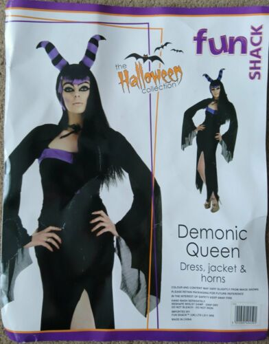 Mesdames démoniaque Reine Démon Maléfique Costume Déguisement Halloween Costume