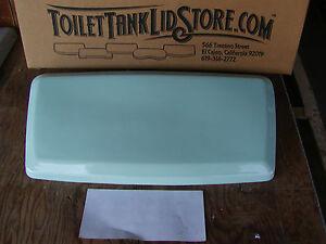 American Standard 2009 Toilet Tank Lid Mint Green Roma