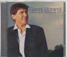 GIANNI MORANDI L'AMORE CI CAMBIA LA VITA CD