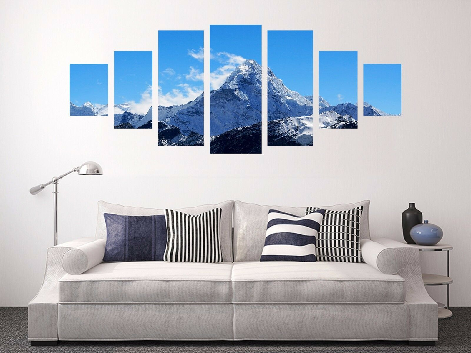 3D Mountain Peak Sky 55 Unframed Print Wall Paper Decal Wall Deco Indoor AJ Wall