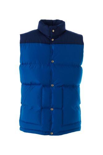 LANDS/' END Men/'s M Colorblock HyperDRY™ 600 Fill Down Vest NWT $80