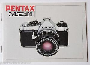 pentax me super 35mm film camera manual instruction book english rh ebay com pentax me manual pdf pentax me manual español