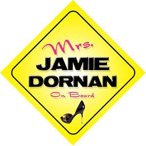 Mrs-Jamie-Dornan-On-Board-Car-Sign-Sons-of-Jim