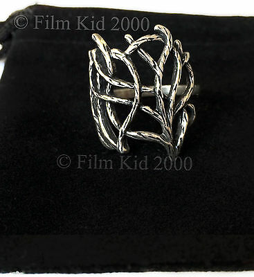 THRANDUIL WOODLAND RING ELVEN KING SINDARIN LEGOLAS HOBBIT LORD OF THE RINGS
