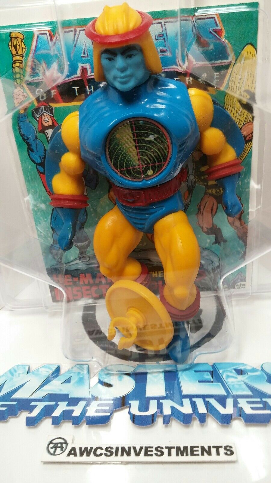 HE MAN MOTU 1980sSY KLONE chest discshieldcomicZoloworld discshieldcomicZoloworld discshieldcomicZoloworld Casesee pictures 0a019a
