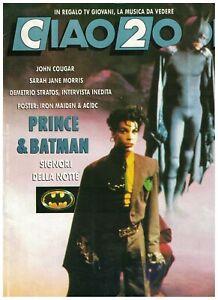 Ciao-2001-Italy-1989-Prince-Iron-Maiden-amp-AC-DC-Poster-John-Cougar