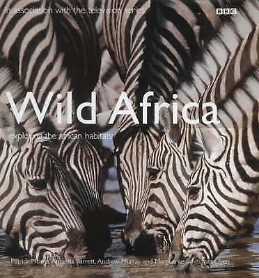 BBC Wild Africa by Patrick Morris Hardback Book Excellent Condiiton