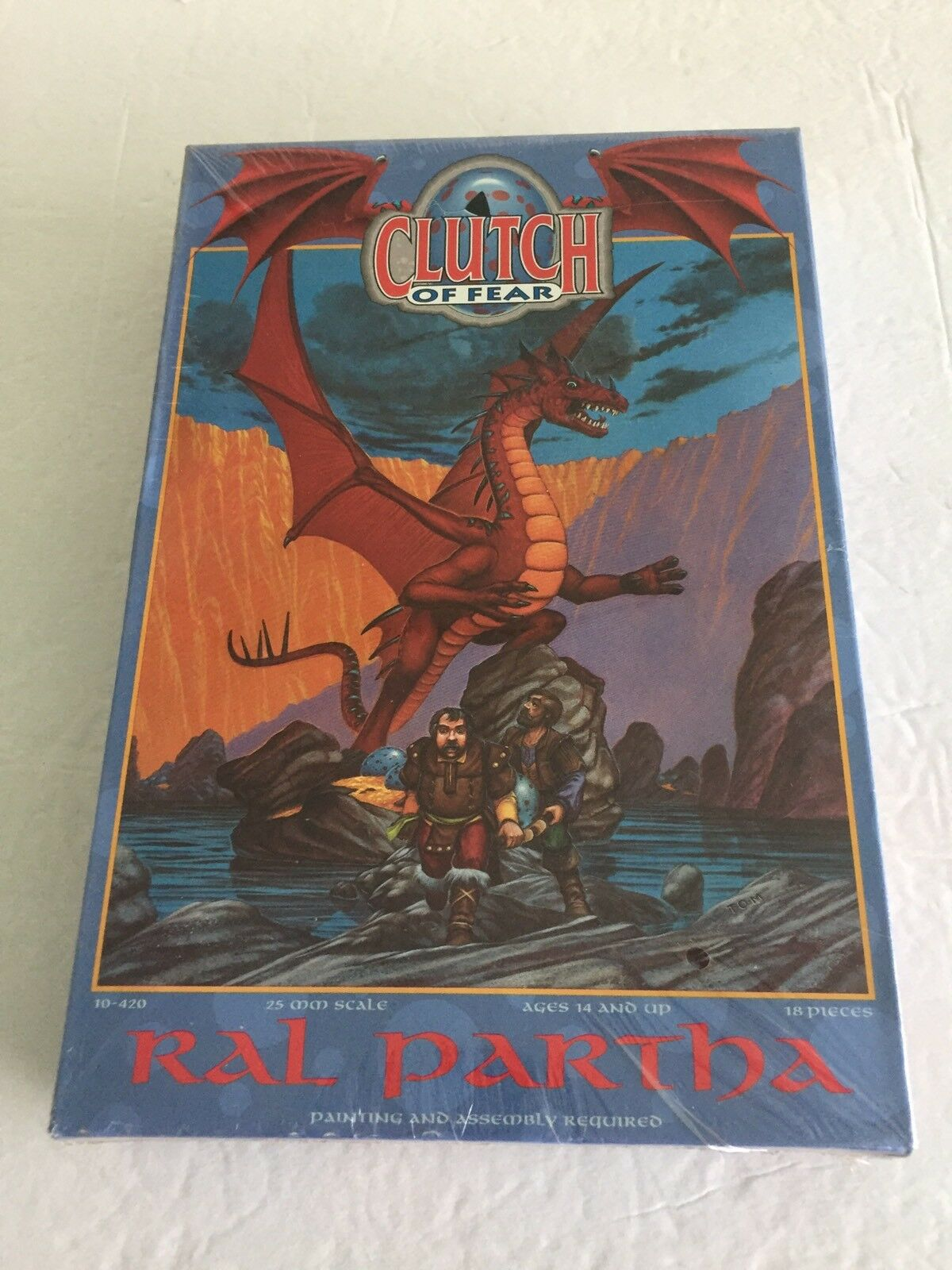 Ral Partha D&D Clutch of Fear Dragon SetPEWTERGrenadierSEALED