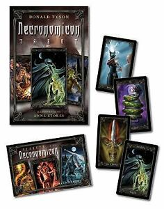 Necronomicon-Tarot-Cards-Kit-With-BookWith-Tarot-CardsWith-Black-Organdy-Bag