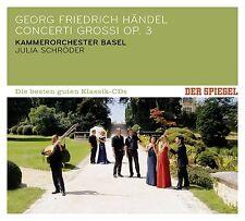 SPIEGEL:DIE BESTEN GUTEN-CONCERTI GROSSI OP.3  CD NEU HÄNDEL,GEORG FRIEDRICH