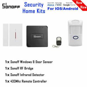 Sonoff 433MHz Smart Home Switch DIY Door Window PIR Infrared