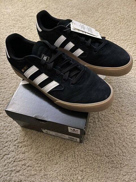 libertad Banquete traductor  adidas Skateboarding Busenitz Vulc Shoes Men's Trainers Black White Gum  Sole UK 11 for sale online | eBay
