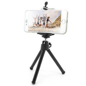 Universal-Stativ-Handy-Staender-Selfie-Klemmstativ-Tripod-Dreibein-Smartphone