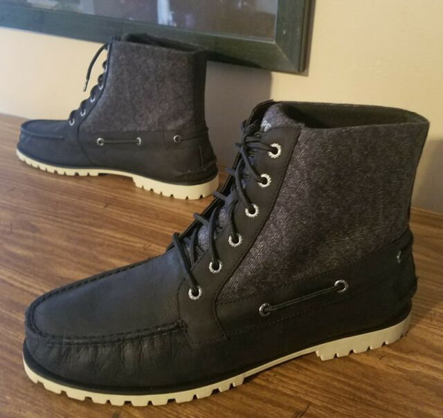 791482bd3ffc Mens Sperry Carson Boot Black Size 12m for sale online