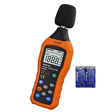 Vlike Lcd Digital Audio Decibel Meter Sound Level Meter Noise Level Meter Sound