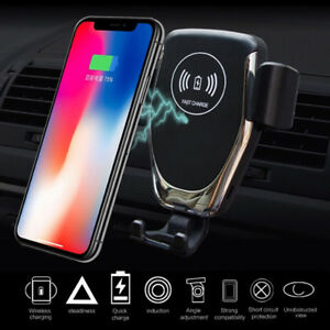 10W-Qi-Wireless-Fast-Charger-Car-Mount-Holder-Stand-Auto-Sensor-ChargingFEH