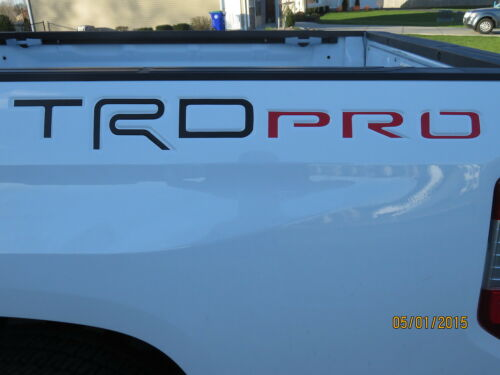 Toyota Tundra 2015 TRD PRO Bed Decals 2016 2017 2018