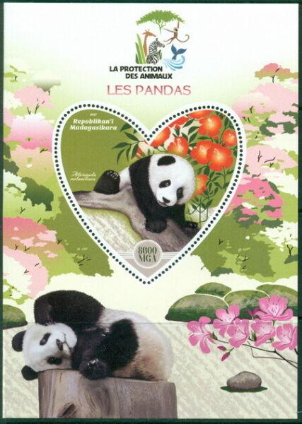 2017 Pandas Protection Animale Ours Animaux Fleurs Les Clients D'Abord