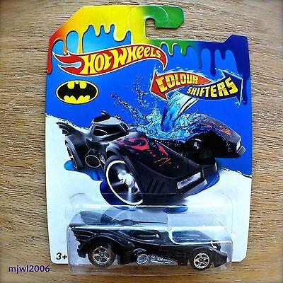2015 Hot Wheels BATMOBILE Mattel COLOUR SHIFTERS COLOR from 1989 Batman movie