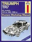 Triumph TR7 Service and Repair Manual by Haynes Publishing Group (Paperback, 2014)