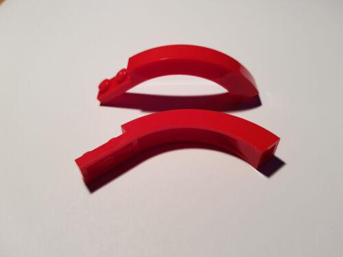 Red #BC01 LEGO® 2 x 6060 halb Dach Bogen Stein 1 x 6 x 3 1//3 rot 6185958