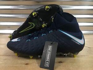 89da7ad7f92 Nike Hypervenom Phantom III 3 DF SG PRO AC Soccer Cleats Blue SZ ...
