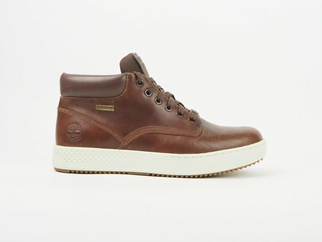 Mens Timberland A2BN5 City Roam Winter Smooth Brown Leather Lace Up Boots