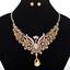 Fashion-Elegant-Women-Rhinestone-Crystal-Choker-Bib-Statement-Pendant-Necklace thumbnail 53