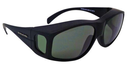 Medium Overglasses Polarized Smoke-Green Cat-3 UV400 Lenses