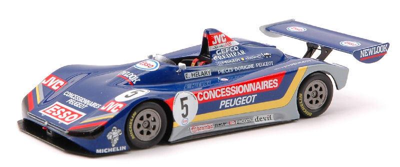 Peugeot 905  5 Winner Europe Cup 1992 1 43 Model SPARK MODEL