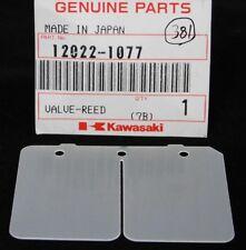 1 NOS Genuine KAWASAKI KX 125 REED VALVE PETAL Part OEM 12022-1074 Factory Stock