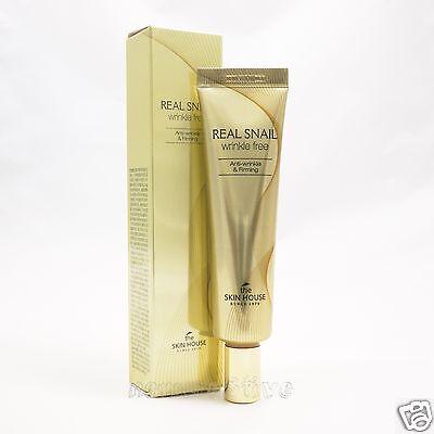 [The Skin House] Real Snail Wrinkle Free 30ml  Snail Eye Cream Anti wrinkle