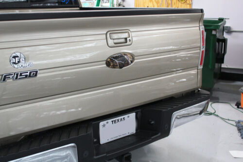 Chrome Black 3D Raised Plastic Emblem Badge Letter For 09-14 Ford F150 Tailgate