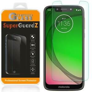 SuperGuardZ Tempered Glass Screen Protector Guard For Motorola Moto G7 Play