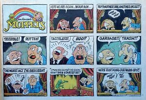 The-Muppets-by-Jim-Henson-large-half-page-color-Sunday-comic-Oct-18-1981