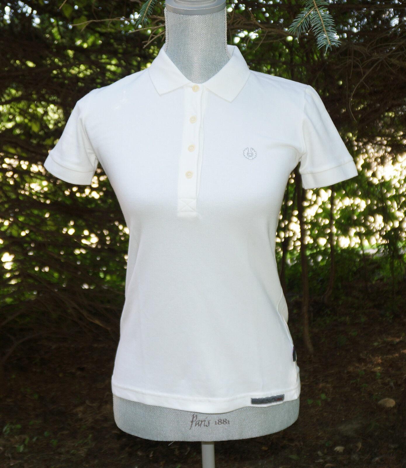 Belstaff Logo Piquet Polo Shirt Short Sleeve Größe New NWT