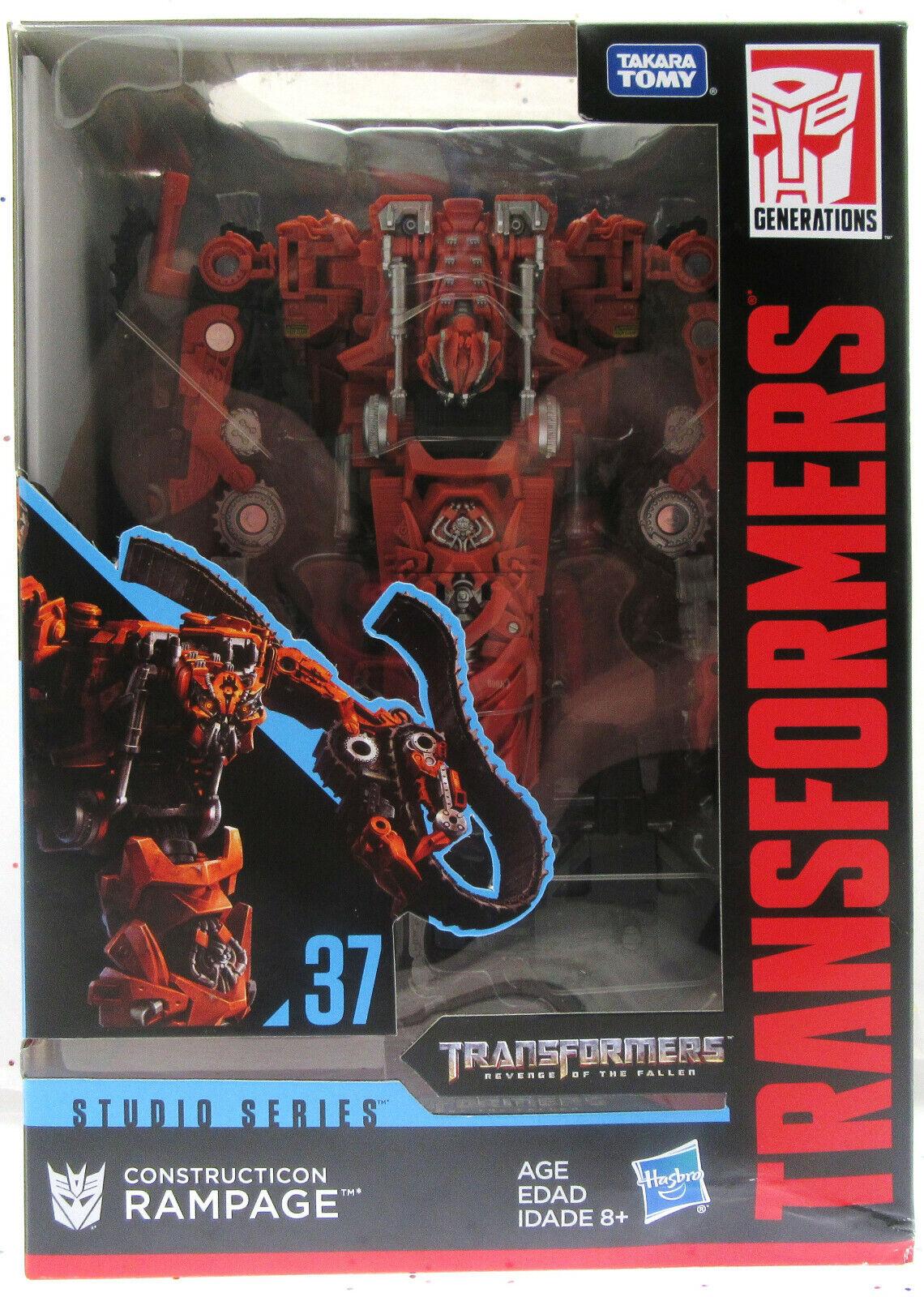 TRANSFORMERS  Rampage 37  Studio Series  Decepticon Constructicon  Hasbro