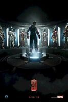 Iron Man 3 Armor Evolution 24x36 Movie Poster Patriot Robert Downey New/rolled