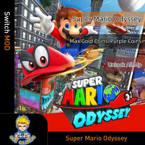 Nintendo-Super-Mario-Odyssey-Switch-Mod-Max-Gold-Coins-Purple-Coins-MP