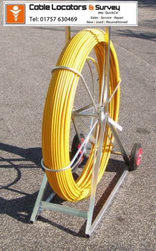 Cobra reel-conduit rod 11 mm x 100 mètres-pipedart
