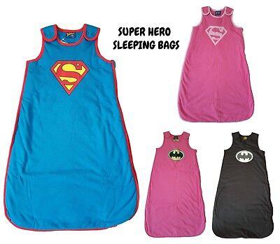 Bébé sac de couchage Growbag Garçons Filles 2.5 Tog Chaud sommeil sécurité Coton Personnage