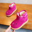 Winter Kids Girls Snow Fur Baby Shoes Cute Toddler Warm Boots Size4.5-11 E83017
