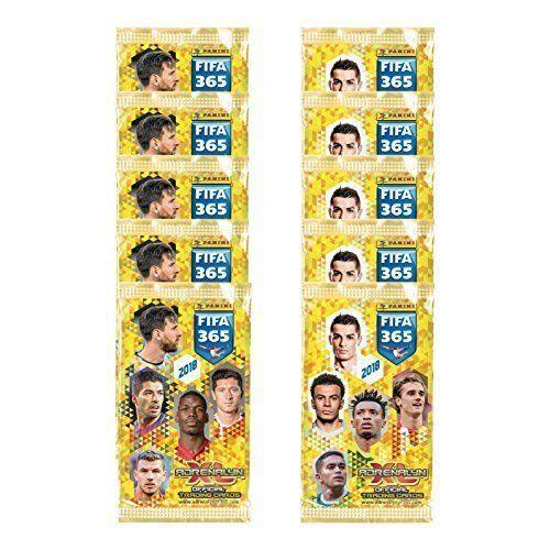 Voetbal Verzamelkaarten, ruilkaarten 150 Sammelkarten Trading Cards Panini Adrenalyn XL FIFA 365 2018 25 x Booster