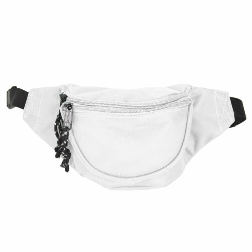6 Pack DALIX Fanny Pack Red Black Blue Navy Royal Money Pouch Running Pack