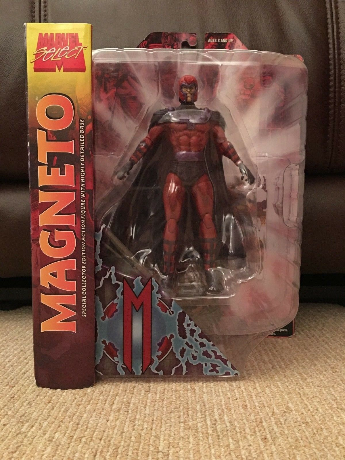 Diamond Select Marvel Select Magneto Max Eisenhardt