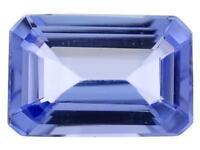 Beautiful, Rare Tanzanite Emerald Cut Natural Loose Gemstones, 6x4mm And 7.5mm