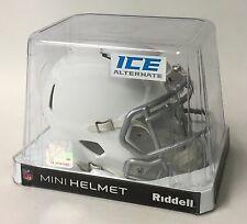 RIDDELL MATTE WHITE ICE SPEED FOOTBALL MINI HELMET - NEW IN RIDDELL BOX