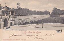 LUCCA - Mura della Città con la Porta S.Pietro 1901