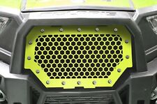 Steel Grill for Polaris Part RZR 1000 XP 2015-2017 RZR 900 S Lime Squeeze HEX