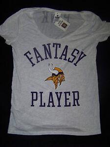 ba41f557 Details about Victoria's Secret PINK Minnesota Vikings Fantasy Player NWT  Medium